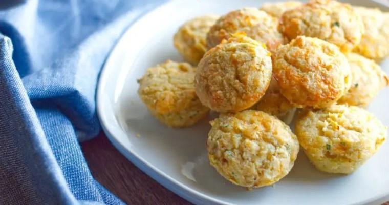 Cheesy Squash Bites – Keto, GF