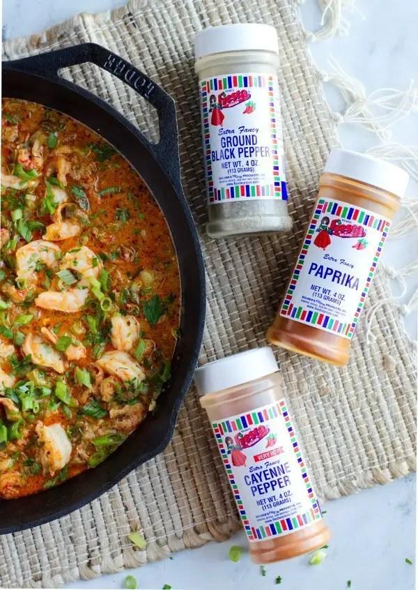seasonings for keto Shrimp recipe