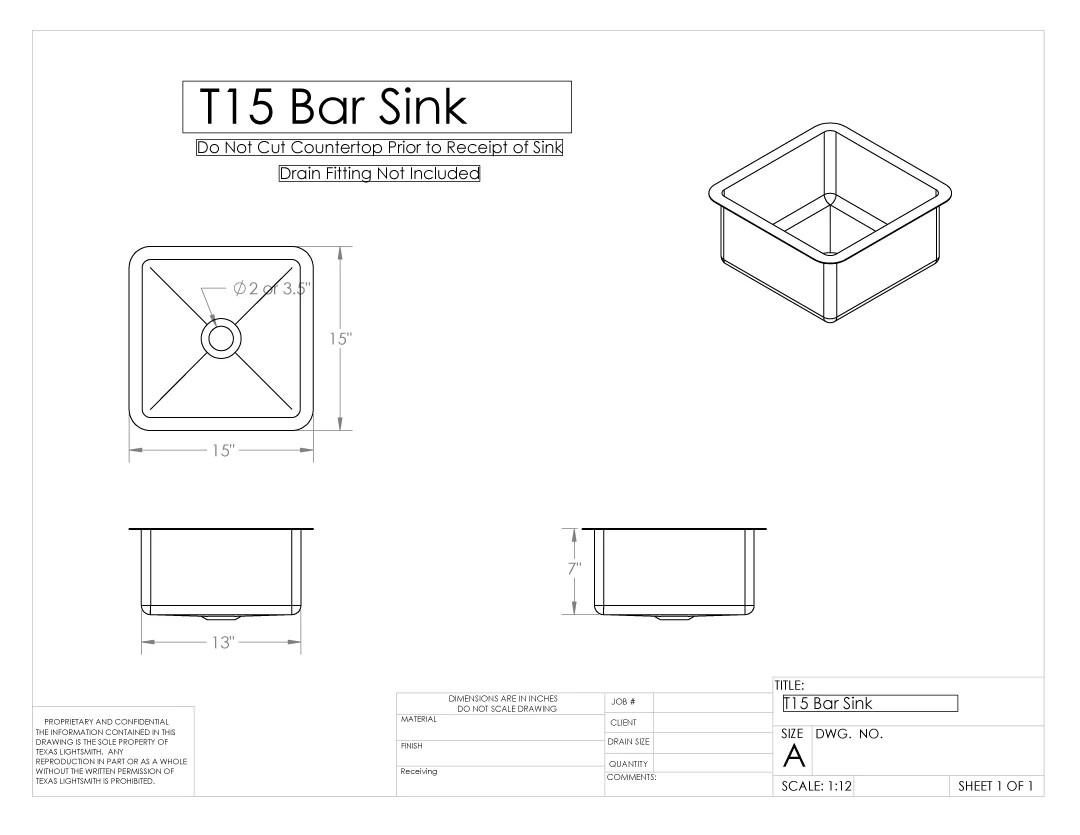 custom bar sinks texas lightsmith