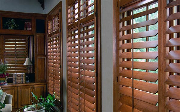 Wooden Blinds Are Expensive but Stylish