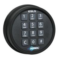 amsec digital keypad safe lock