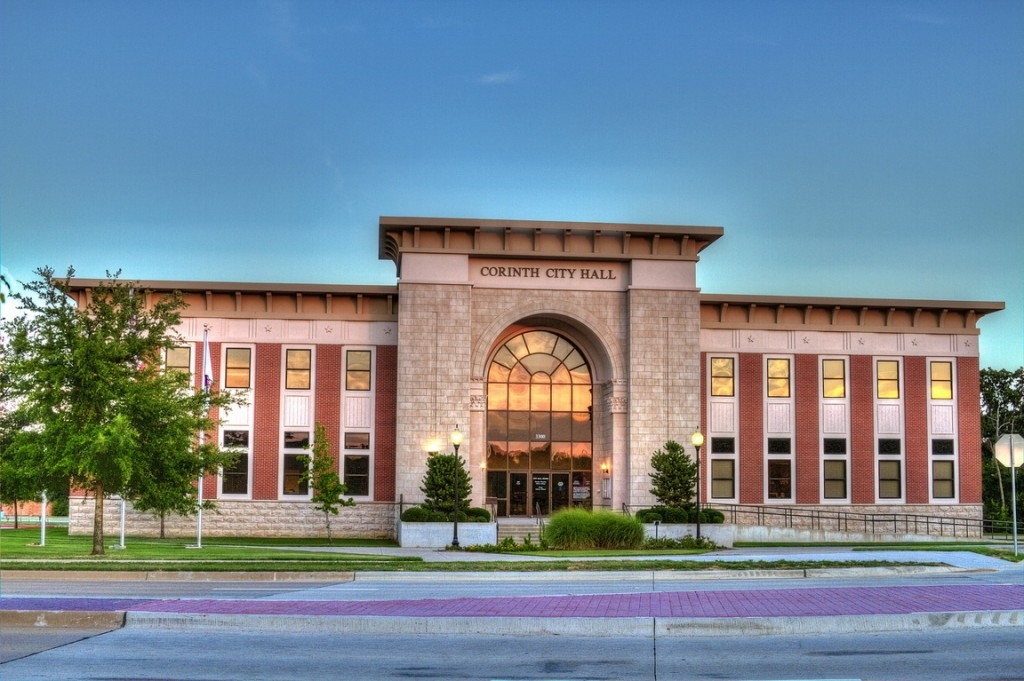 Corinth Texas City Hall
