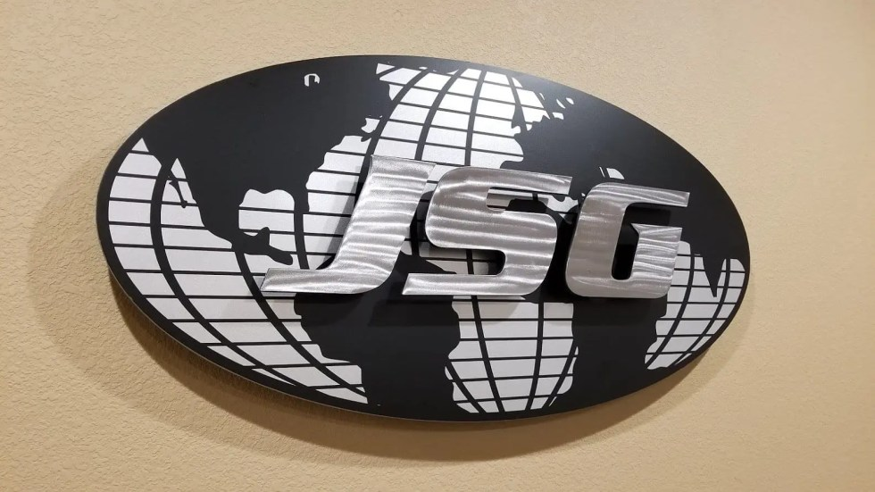 Turning the Johnson Service Group Logo into Wall Art!