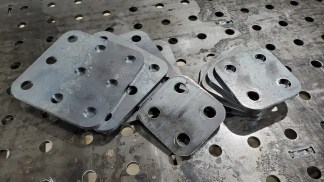 Welding Table Accessory Plates