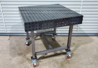 """Welding Table - 40"""" x 40"""" Fully Fabricated Weld Tables"""