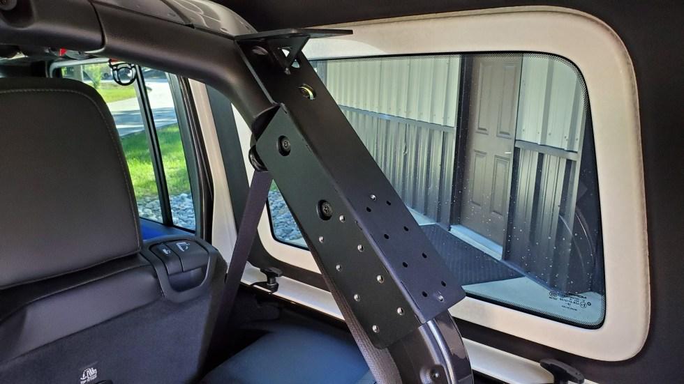 Jeep Wrangler JL Cargo Shelf and Mounting Brackets Kit