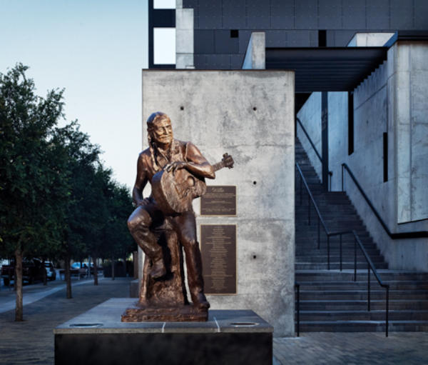 Willie Nelson Statue Austin Texas Monthly
