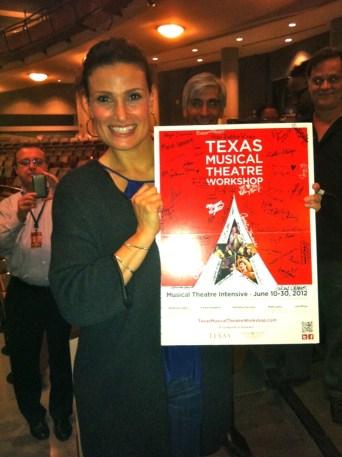 Tony Award winner Idina Menzel