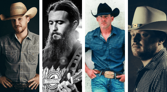 The Most Streamed Texas/Red Dirt Artists on Spotify   Texas
