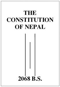 Proposed Constitution of Nepal 2068 BS