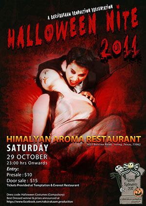 Halloween Costume Nite 2011 by Raksirakaam
