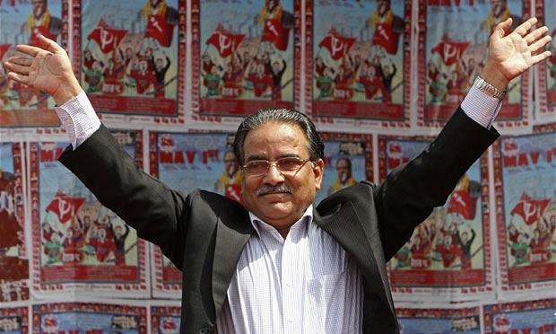 Nepali Maoist leader adopts millionaire's lifestyle