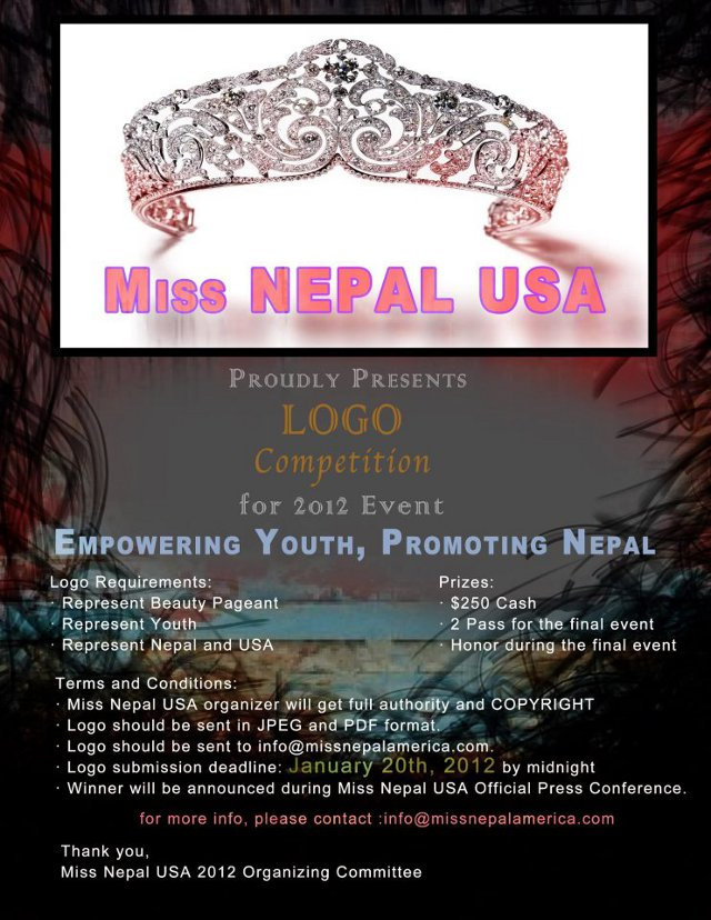 Miss Nepal USA 2012 Logo Competition