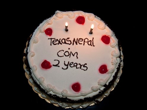 TexasNepal.com Turns Two Today! (June 1, 2011)
