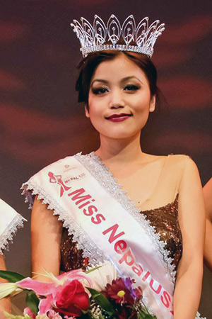 Bartika Rai, Miss Nepal US 2013 (Photo: Bikrant Shrestha)