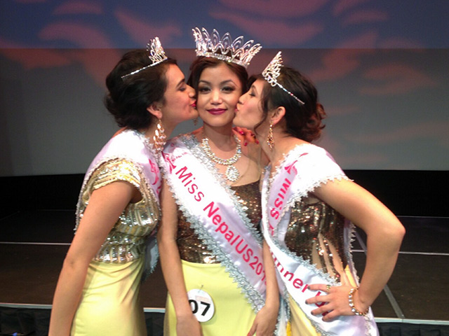 Miss Nepal US 2013 Winners at Queens Theater (Photo: Nabina Basnet)