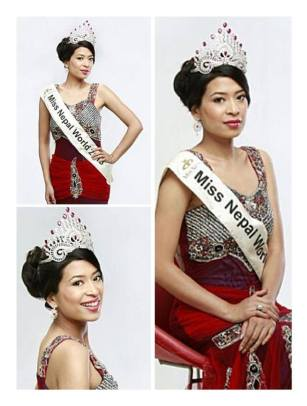 Photo source: Miss World-Nepal Facebook page