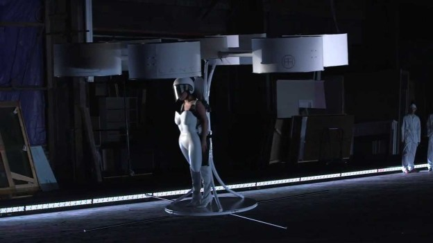 Lady Gaga introduces VOLANTIS, the World's First Flying Dress