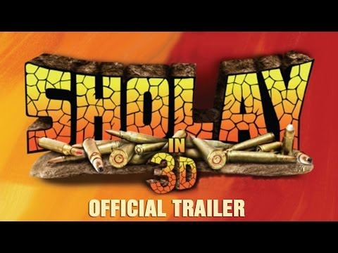 Sholay 3D Official Trailer