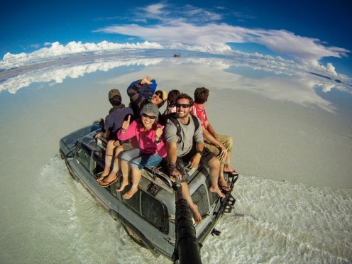 Around the World in 360° Degrees – 3 Year Epic Selfie