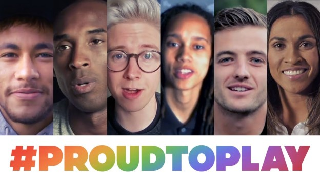 ProudToPlay: Celebrating equality for all athletes