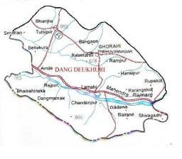 Map-of-Dang-district