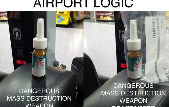 TSA Logic Airport Security