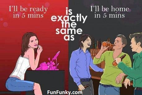 Women vs Men 5 mins