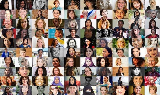 Two Nepalis in BBC's 100 Women 2014