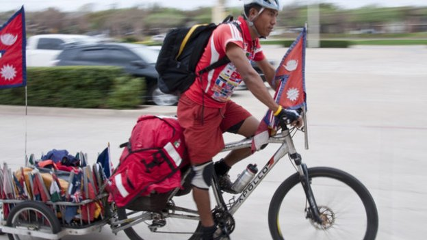 Furtemba Sherpa – Nepali World Tour Cyclist