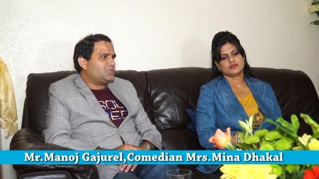 Interview with Manoj Gajurel and Mina Dhakal Gajurel – Namaste Europe Dampati