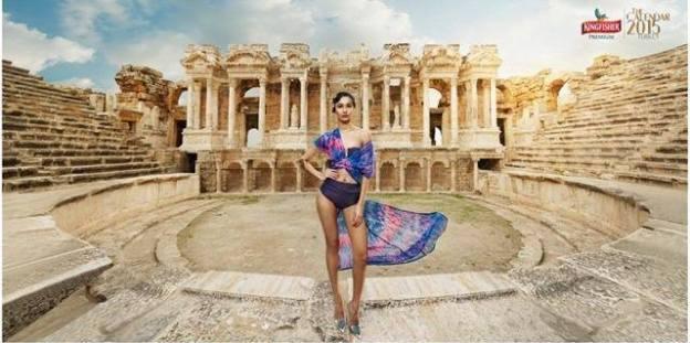Nepali Model Aastha Pokharel Becomes 'Kingfisher Calendar Girl 2015'