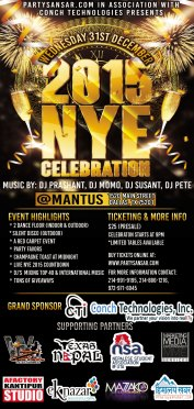2015 NYE Celebration by PartySansar