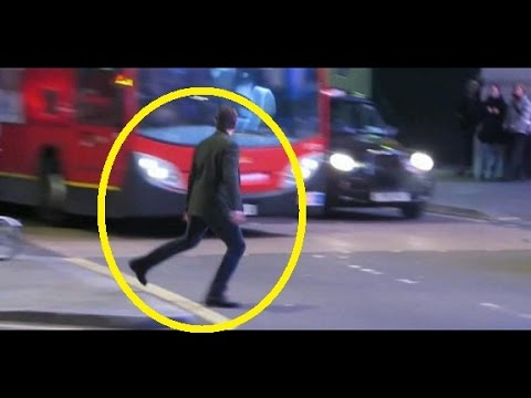 Tom Cruise Nearly Hit By London Bus