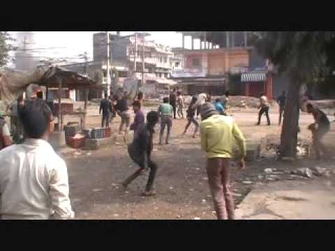 Locals, Police Clash in Simara, Police Post Tourched (Video)