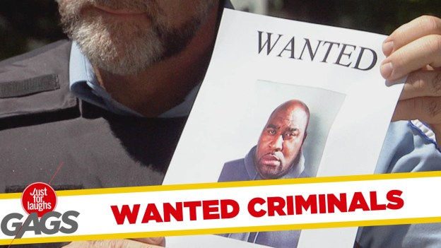Wanted Fugitives Pranks – Best of Just For Laughs Gags