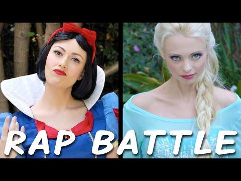 Princess Rap Battle: Snow White vs Elsa