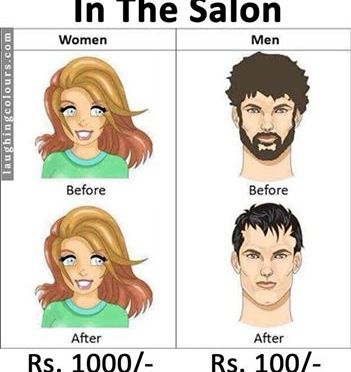 In the Salon