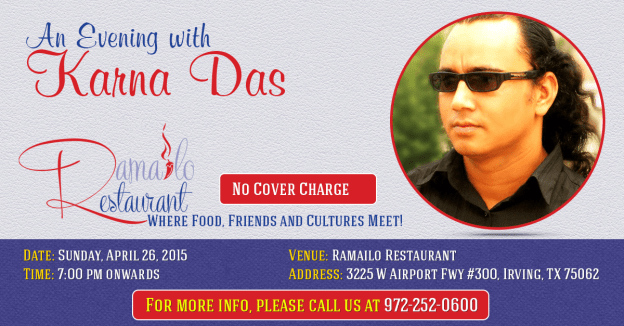 An Evening with Karna Das at Ramailo Restaurant