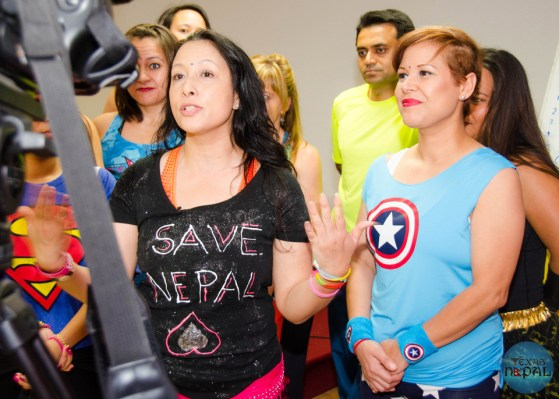 Zumba Dance for Earthquake Victims of Nepal