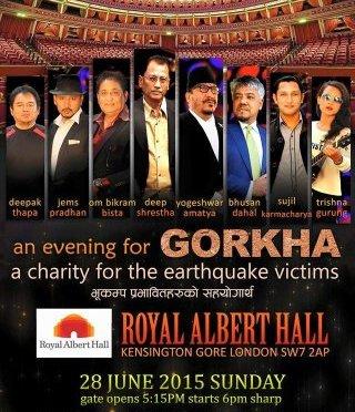 Nepali Artists Performing At Royal Albert Hall For Quake Survivors