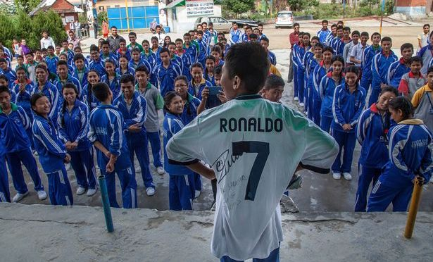 Real Madrid and Cristiano Ronaldo Fan From Nepal Receives A Surprise Package Post-Earthquake