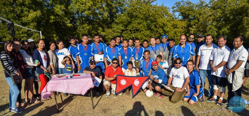 Dashain Volleyball Tournament 2015 Euless - Photo 28