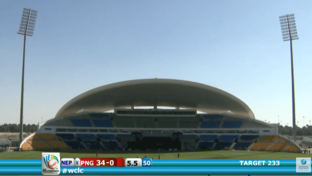 ICC World Cricket League, Nepal v PNG, Abu Dhabi LIVE!