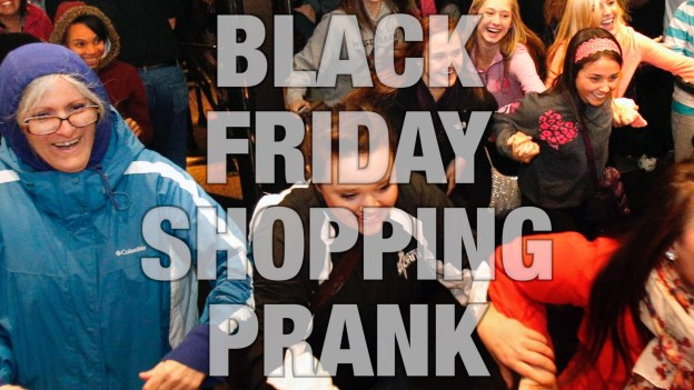 BLACK FRIDAY SHOPPING PRANK 2015!