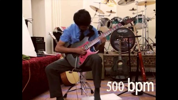 Nepali Boy Becomes World's Fastest Guitar Player