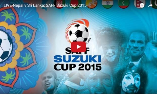 SAFF Suzuki Cup 2015: Nepal Vs Sri Lanka Watch LIVE!
