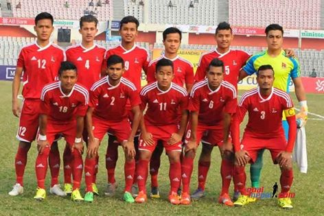 Nepal Wins Title Of Banganbadhu Gold Cup Beating BahrainU23