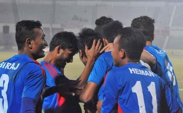 Nepal Wins Banganbadhu Gold Cup Beating Bahrain U23 3-0