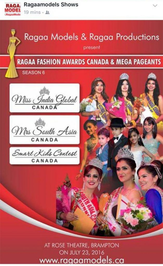 First Nepali Contestant In Mrs South Asia Canada